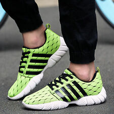 New Mens Womens Fashion Sport Sneakers Breathable Loafer Flats Casual Shoes CK89