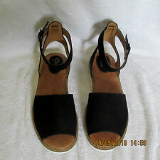 NEW Clarks ARTISAN Womens Leather Sandals LYDIE HALA RRP £50 BLACK