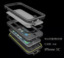 for Apple iPhone 5C Water Shock Dust Proof case cover Defender With Screen Film