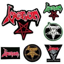 Venom Sew On Patch Iron Embroidered Rock Band Heavy Metal Music Badge Applique