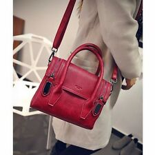 Graceful Retro Women Messenger Bag Satchel VTG Top Handle Handbag Shoulder Bag