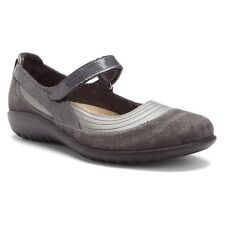 Naot Kirei Women Mary Jane Shoes Leather Suede Madras Slip On Slippers Moccasins