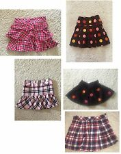 Gymboree girls skirt skort U CHOOSE size 7 back to school po EUC