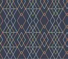 Geometric Grid Spoonflower craft fabric by the yard in a variety of cotton