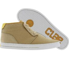 $110 Clae McQueen (camel canvas) fashion sneaker  sz 11 12 13