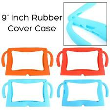 "9"" Inch Rubber Cover Case For Q8 Android Kids Girls Boys Tablet Soft Silicone PC"
