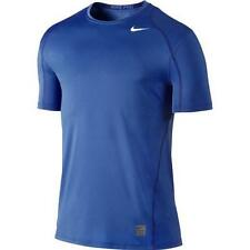 Nike Pro Cool Fitted Men's Dri-FIT Short Sleeve Shirt 703104-480 Royal Blue