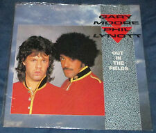 Phil Lynott Gary Moore Out In The Fields 12Inch Single UK 1985 Thin Lizzy SHRINK
