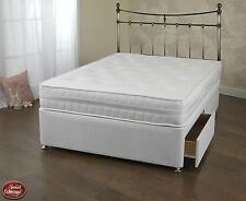 Sweet Dreams Arizona Open Coil Divan Ortho Memory Mattress Set Sprung Edge Base