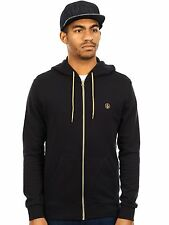 Volcom Black Icon II  Flc Zip Hoody