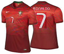NIKE CR7 C. RONALDO PORTUGAL AUTHENTIC HOME JERSEY FIFA WORLD CUP BRAZIL 2014