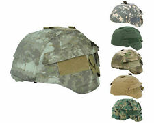 13 Color Airsoft Tactical Helmet Cover Ver2 for MICH TC-2000 ACH With Back Pouch