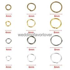 300pcs/Lot Superior Quality Metal Jump Rings Open Connectors Jewelry Finding