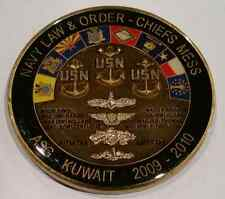 USN CPO CPOA Chiefs Mess Navy Law and Order M P Kuwait, Asg. 2009-2010