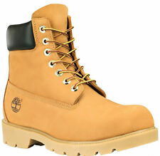 Timberland Mens 6-Inch Basic Waterproof Boot with Padded Collar Wheat