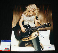 Somethin' Bad Miranda Lambert signed 11 x 14, Platinum, Kerosene, PSA/DNA