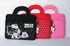 """HELLO KITTY CAT tablet PC sleeve pouch case hand bag for 8"""" Samsung galaxy Tab"""