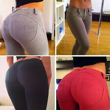 Sexy Women's Leggings Skinny Jeggings Slim Fit Jeans Pants Tight Pencil Trousers