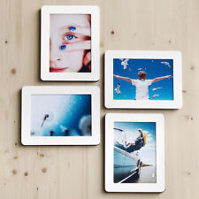 """Sandwich Panel Photo Picture Frame 4P Set for 5""""x7""""_Stick Stand/Wall Deco"""