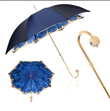 umbrella,charming Dahlia Long Handle Straight Anti-UV Sun/Rain Stick Parasol New