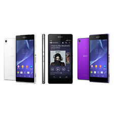 3 Colors! Sony Ericsson Xperia Z2 4G LTE D6503 16GB 20.7 MP Unlocked Smartphone