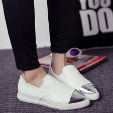 New Womens Flats Casual Metal Pointed Toe Oxfords Pumps Loafers Moccasins Shoes