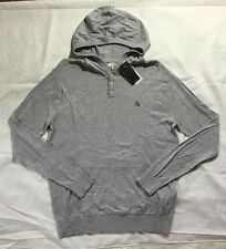 NWT Men's Quiksilver Gray Kelvin Hoody Sweater-Retail $55
