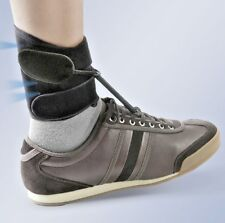 Boxia Drop Foot Ankle Foot Support for flaccid paralysis drop foot (BLACK)