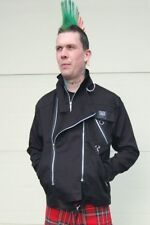 Tiger of London Black Punk Zip Jacket