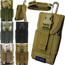Tactical Army Sport Bag Pouch Case Belt Loop Hook Purse For Nokia Lumia Motorola