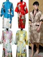 New Women's Men's Oversized Clothing Nightwear Kimono Dressing Gown Bathrobe