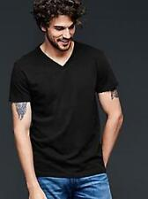 2 Pk Gap Men 100% Cotton V Neck t Shirt Undershirt Black NWT Sz S M L Free Ship