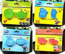 Japan Disney Cookie Plunger Cutter Stamp Set Cake Decorating Fondant Mold Tool