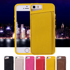 1PC PU Leather Wallet Mobile Phone Case Apple iPhone 5 5s Protective Back Cover