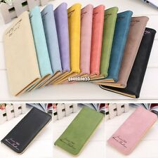 NEW Fashion Women Leather Clutch Wallet Long Card Holder Case Purse Handbag