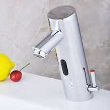 Infrared Sensor Automatic Hands Free Tap Modern Hot & Cold Bathroom Sink Faucet