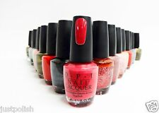 OPI Nail Polish Color Lacquer Assorted Colors Your Choice D to G .5oz/15ml