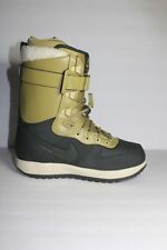 Nike Zoom Force 1 Mens Green Snowboard Winter Snow Boots Size 7.5 M Eur 40.5