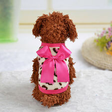 Pet Dog Cotton Vest Dog Warm Clothes Fit for Summer Autumn and Spring