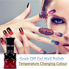 8 ml Soak Off Temperature Color Changing Gel Nail Polish UV Varnish Nail Art Tip