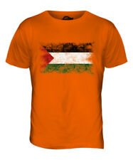 PALESTINE DISTRESSED FLAG MENS T-SHIRT TOP FILAST?N PALESTINIAN GIFT SHIRT