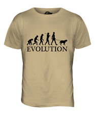 AMERICAN BULLDOG EVOLUTION OF MAN MENS T-SHIRT TEE TOP DOG GIFT WALKER WALKING