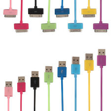 USB Data Sync Charger Cable Cord For Apple iPhone 4s 4 3GS iPod Touch iPad 1M