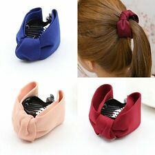 1pc Plastic Bowknot Tie Knot Pin Clip Claw Clamp Hair Accessory Women Party Hot