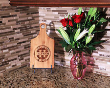 Cutting Board Personalized, Paddle Handle, Wedding, Bamboo,Custom Laser Engraved