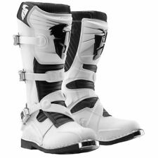 Thor NEW 2016 Mx Ratchet Buckles White Motocross Dirt Bike Offroad Enduro Boots