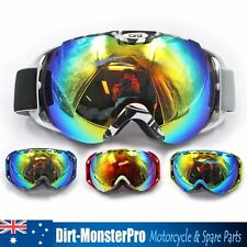 Double Tinted Lens Skiing Snowboard Goggles Anti-UV Ski Sports Goggles Sunglass