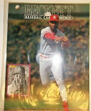 1992 Beckett Baseball Trading Card Monthly Magazine & Price Guide Ozzie Smith