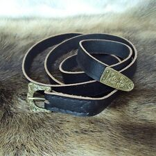 Viking Thin Leather Belt - Ideal For Re-Enactment Or LARP