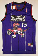 "Nike NBA Toronto Raptors Vince Carter Swingman Jersey Purple ""15"""